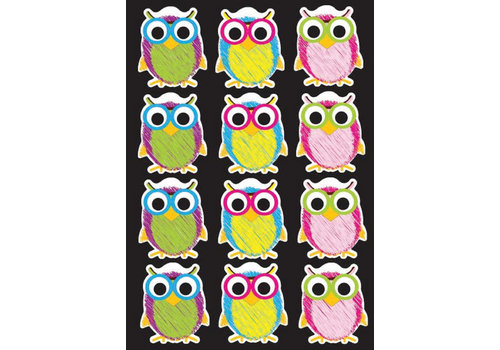 ASHLEY PRODUCTIONS Magnetic Scribble Owls *