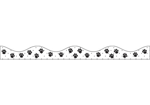 ASHLEY PRODUCTIONS MAGNETIC BORDER BLACK PAWS * (D)
