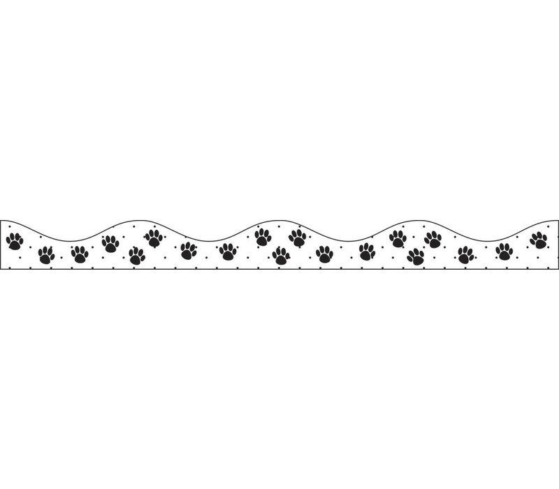 MAGNETIC BORDER BLACK PAWS * (D)