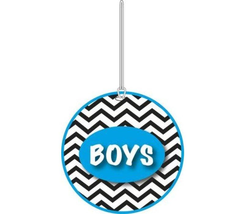 3-D Chevron Boys Hall Pass
