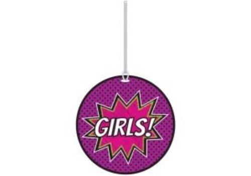 ASHLEY PRODUCTIONS Superheroes Girls Hall Pass