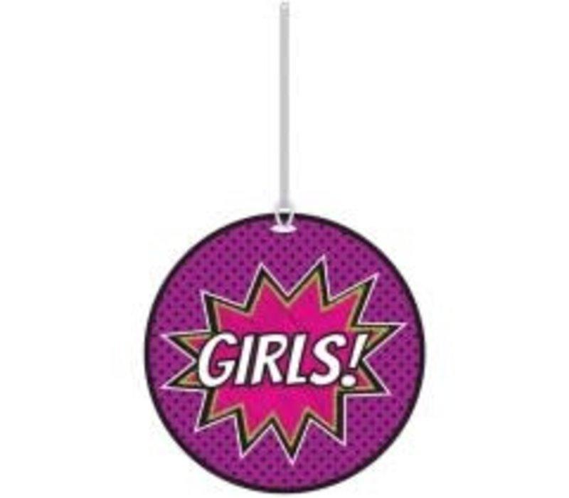 Superheroes Girls Hall Pass