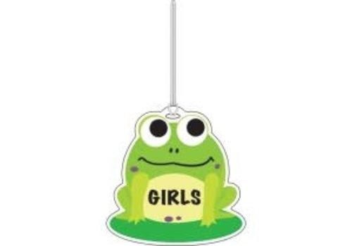 ASHLEY PRODUCTIONS Frog Girls Washroom Pass