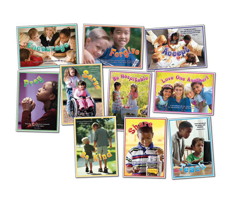 Love One Another Bulletin Board Set