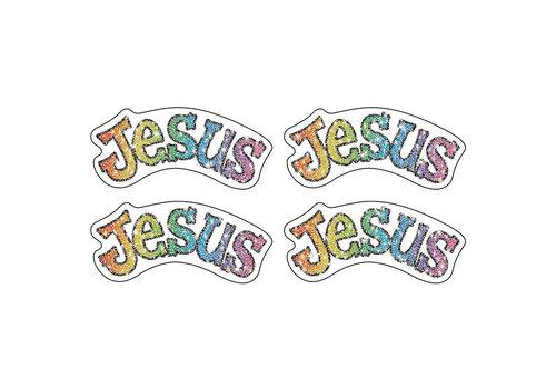 Carson Dellosa Jesus Dazzle Stickers
