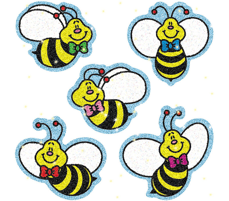 Bees Dazzle Stickers