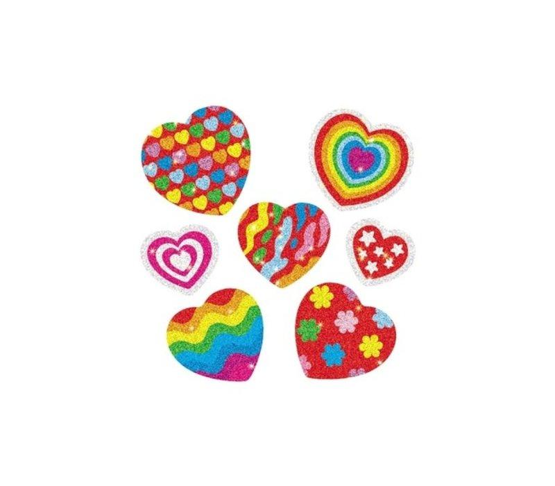 Hearts Dazzle Stickers *