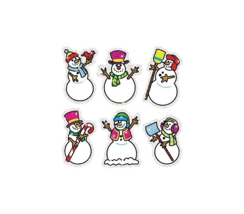 Snowmen Dazzle Stickers *