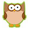 Carson Dellosa Owl Notepad * (D)