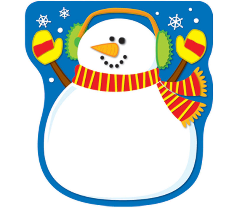 Snowman Notepad *