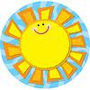 Carson Dellosa Sun Notepad
