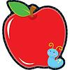 Carson Dellosa Apple Notepad