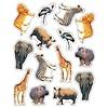 Carson Dellosa Wild Animals of the Serengeti Shape Stickers *