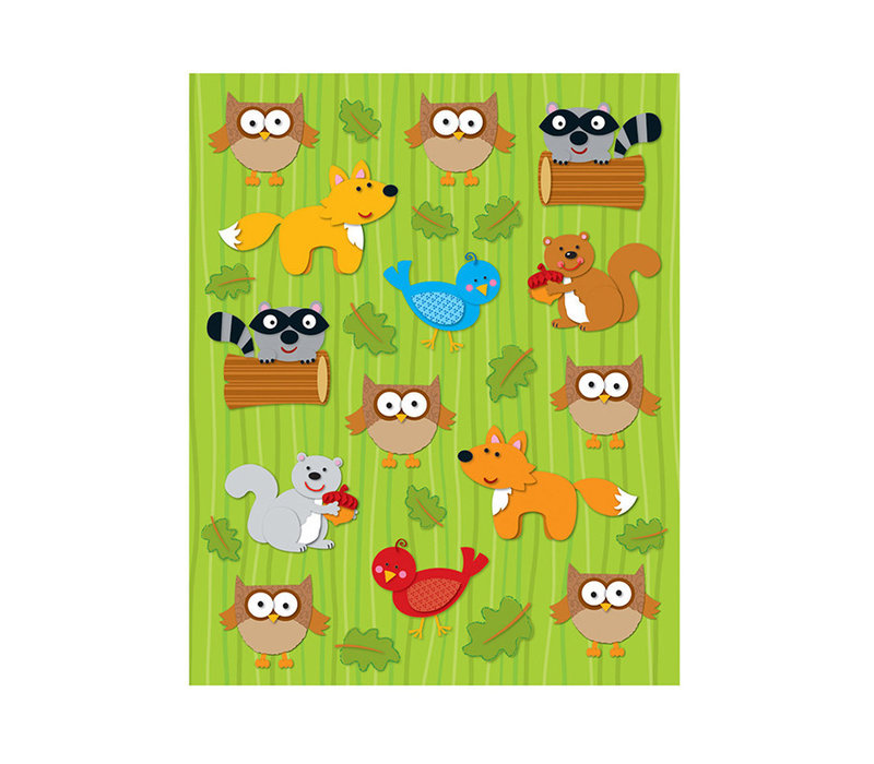 Woodland Animals Shape Stickers *
