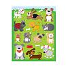 Carson Dellosa Dogs & Cats Shape Stickers