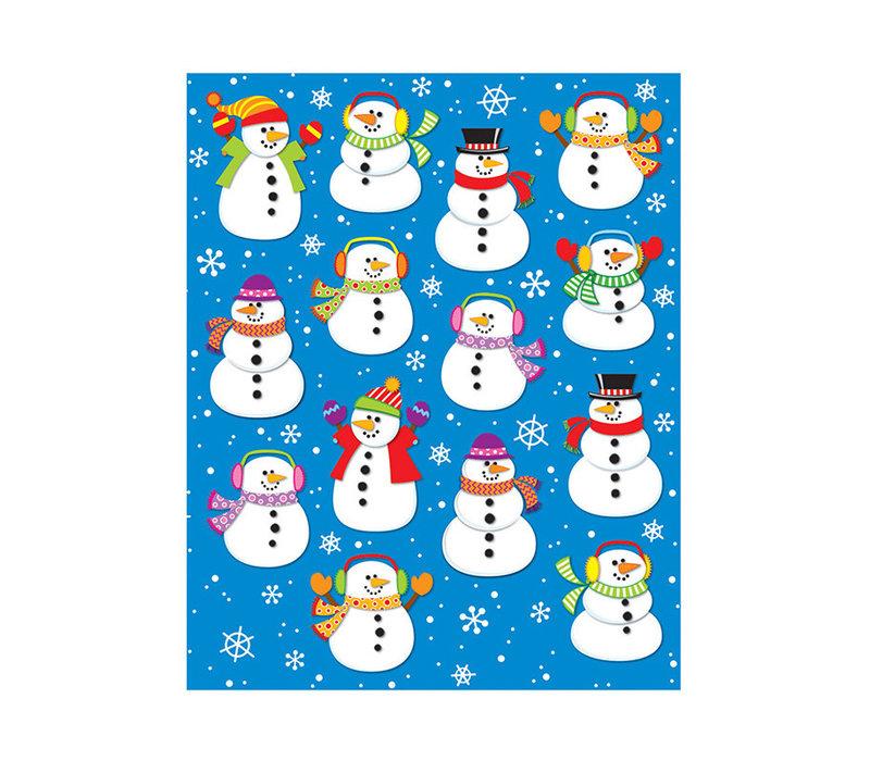 Snowmen Shape Stickers *