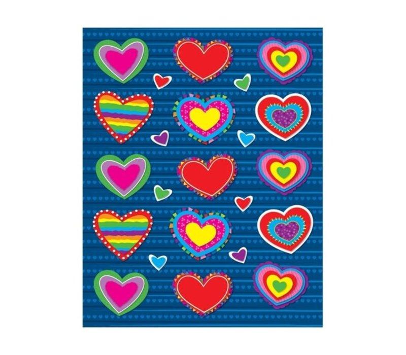 Hearts Shape Stickers