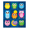 Carson Dellosa Colorful Owls Prize Pack Stickers *
