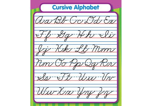 Carson Dellosa Cursive Alphabet Sticker Pack