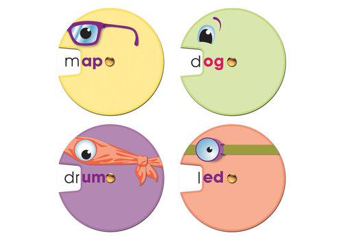 Carson Dellosa Word Wheels: Word Families Curriculum Cut-Outs