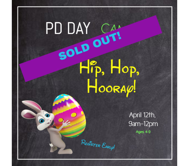 Hip, Hop, Hooray PD Day Camp