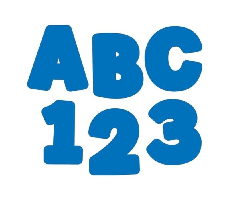 """Blue EZ Letters 4"""" *"""