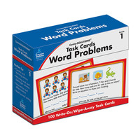 Task Cards: Word Problems, Grade 1