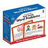 Carson Dellosa Task Cards: Word Problems, Grade 2