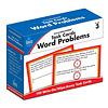 Carson Dellosa Task Cards: Word Problems, Grade 3