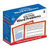 Carson Dellosa Task Cards: Word Problems, Grade 4