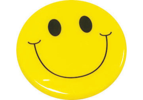 ASHLEY PRODUCTIONS MAGNETIC WHITEBOARD ERASER SMILE FACE *