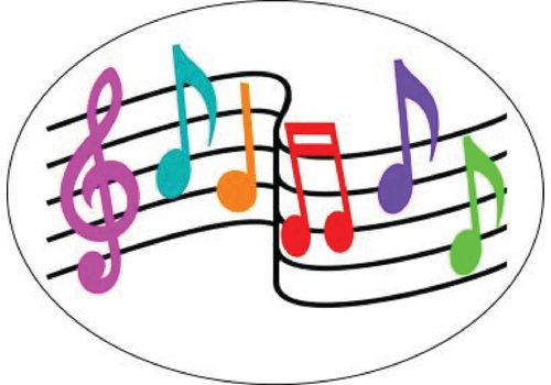 ASHLEY PRODUCTIONS MAGNETIC WHITEBOARD ERASER MUSIC NOTES *