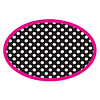 ASHLEY PRODUCTIONS Magnetic Whiteboard Eraser, BW Dots