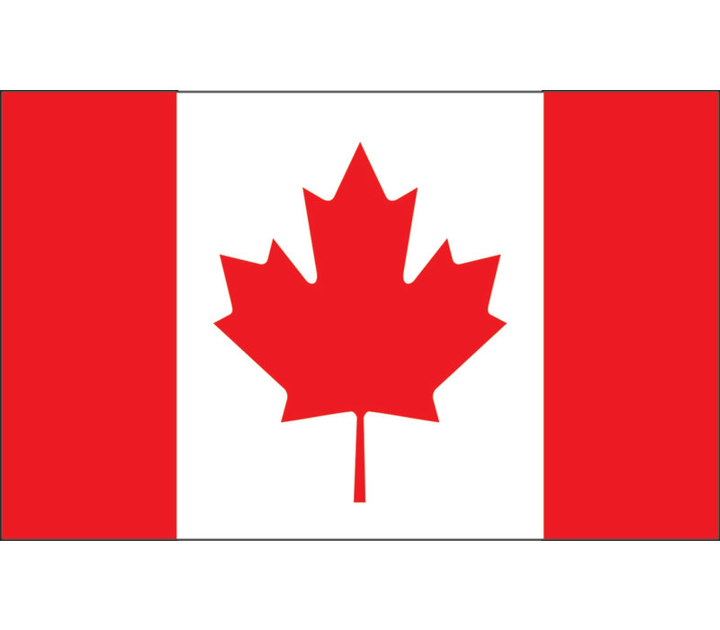 Magnetic Whiteboard Eraser Canadian Flag