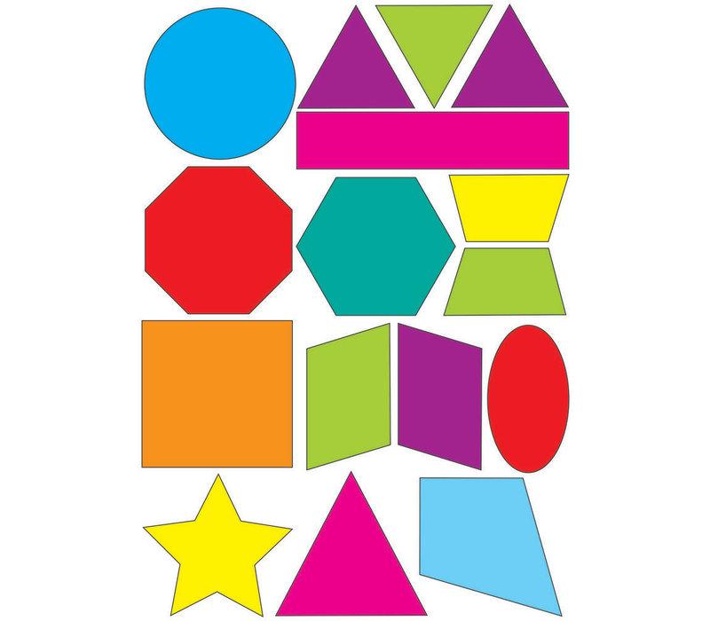 Math Die-Cut Magnets, Shapes *