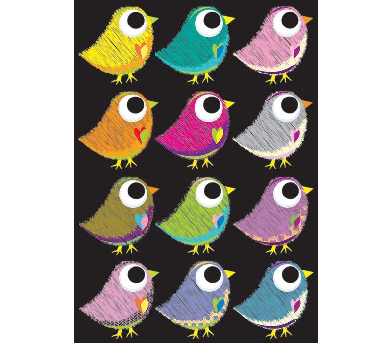 Magnetic Scribble Birds