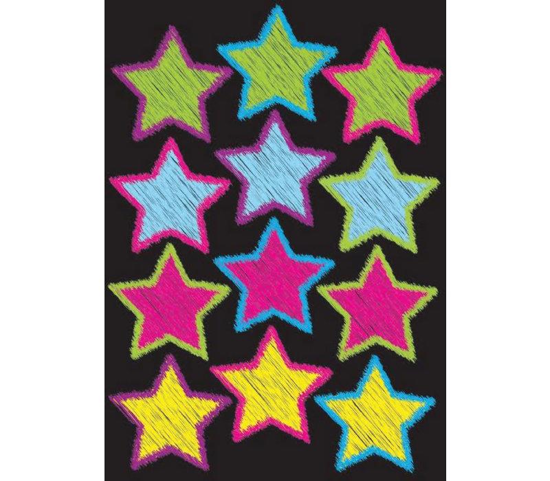 Magnetic Scribble Stars