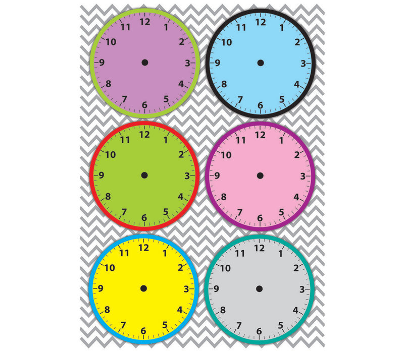 Magnetic Time Organizers, Clockfaces