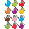 ASHLEY PRODUCTIONS Magnetic Assorted Color Handprints