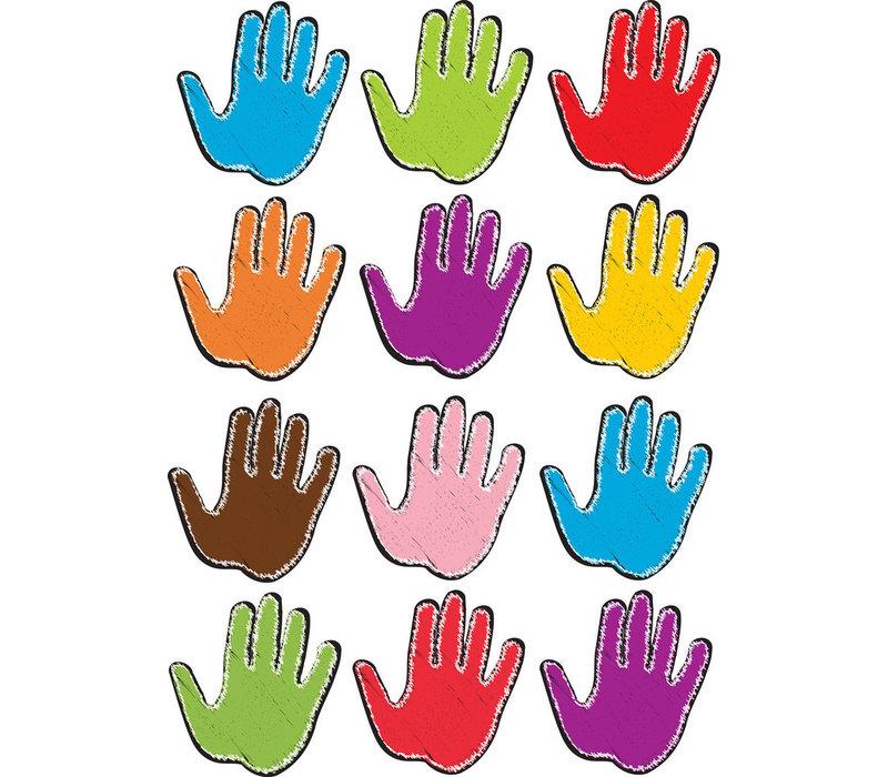 Magnetic Assorted Color Handprints
