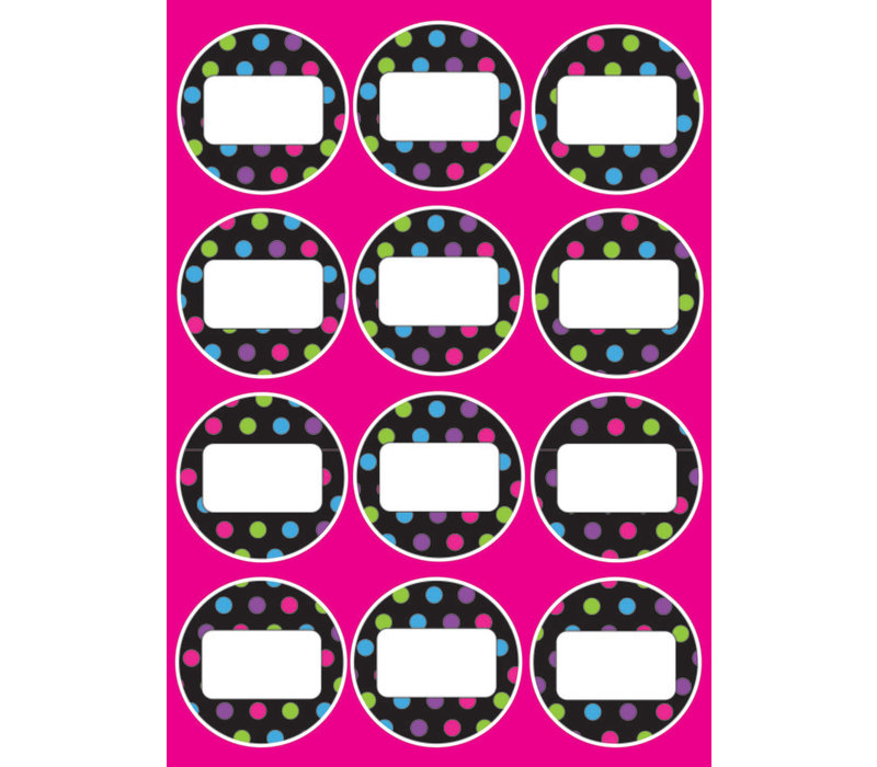 DIE CUT MAGNETS COLOR DOTS *