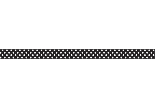 ASHLEY PRODUCTIONS Magnetic MAGI-STRIPS, White Dots
