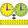 ASHLEY PRODUCTIONS MATH DIE CUT MAGNETS ELAPSED TIME