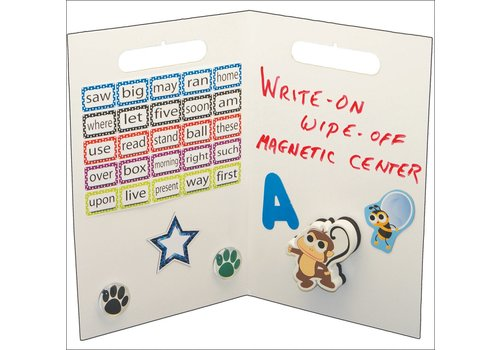 ASHLEY PRODUCTIONS Folding Magnetic Center, White *