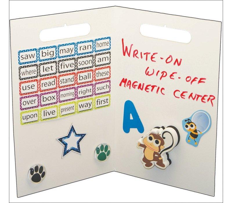 Folding Magnetic Center, White *