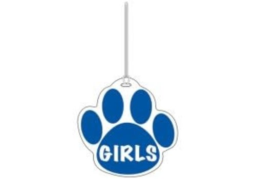 ASHLEY PRODUCTIONS Blue Paw Girls Hall Pass