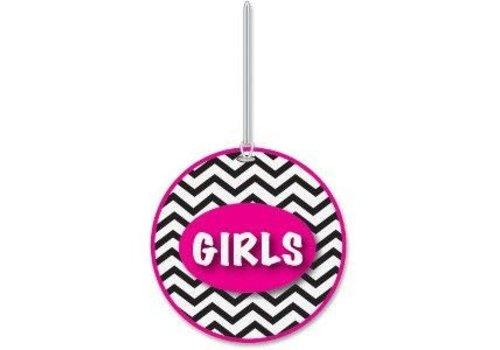 ASHLEY PRODUCTIONS Chevron Girls Hall Pass