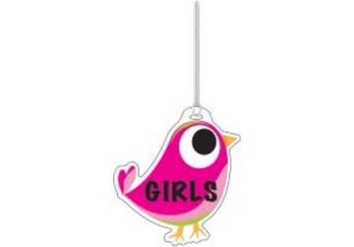 ASHLEY PRODUCTIONS Pink Tweet Girls Hall Pass