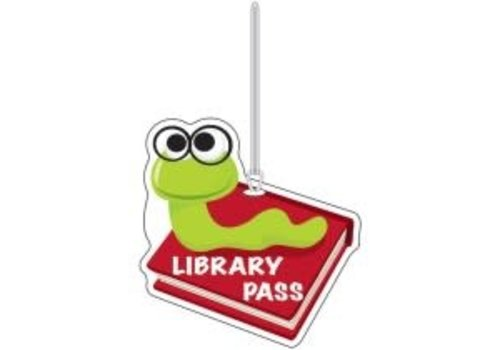 ASHLEY PRODUCTIONS Library Bookworm Library Pass