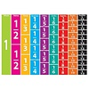 ASHLEY PRODUCTIONS Comparative Fractions Die-Cut Magnets Set